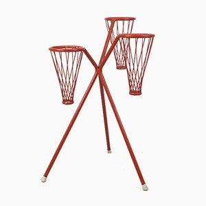 Red Plant Stand, 1970s