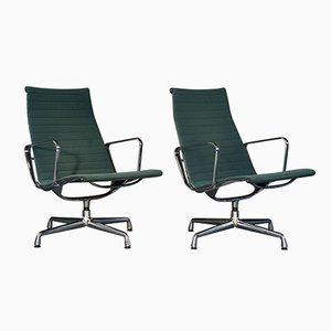 EA 116 Hopsack Lounge Chairs by Charles & Ray Eames for Vitra, 1989, Set of 2