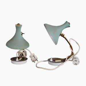 Italian Table Lamps from Stilnovo, 1950s, Set of 2