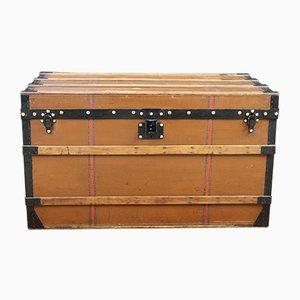 Antique Brown Canvas Trunk by Louis Vuitton
