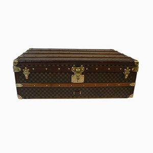 Antike Schachbrett Truhe von Louis Vuitton