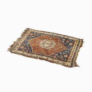 Antique Middle Eastern Hand-Woven Rug, 1880s