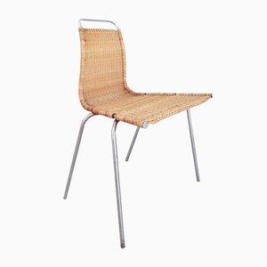 Vintage Danish PK1 Side Chair by Poul Kjaerholm for E. Kold Christensen