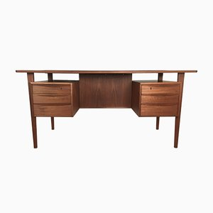 Teak Desk by Peter Løvig Nielsen for Dansk Design, 1960s