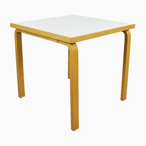 Tavolo da pranzo modello 81C vintage di Alvar Aalto per Artek