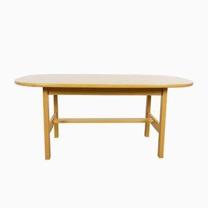 Table Basse Vintage en Forme de Bâteau par Yngve Ekström pour Swedese
