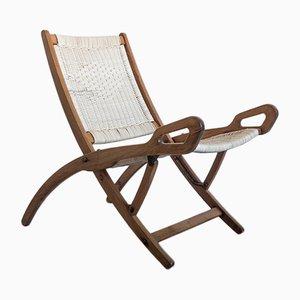 Ninfea Klappbarer Sessel von Gio Ponti für Fratelli Reguitti, 1958