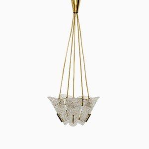 Lámpara de araña de Kalmar, años 50
