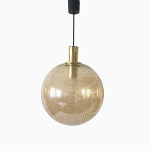 Ceiling Lamp from Glashütte Limburg, 1950s