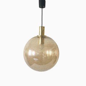 Ceiling Lamp from Glashütte Limburg, 1950s