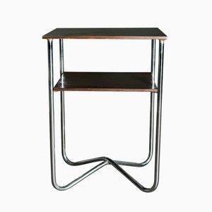 Hoher Vintage Bauhaus Stil Konsolentisch