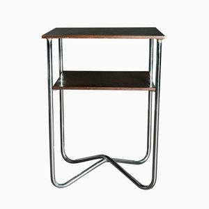 Mesa consola estilo Bauhaus vintage alta