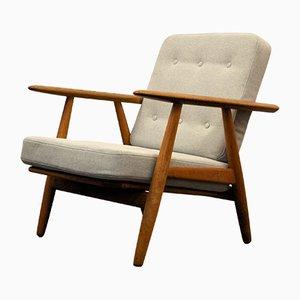 Vintage Cigar GE-240 Sessel in Eiche von Hans J. Wegner für Getama