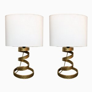 Italian Lamps by Luciano Frigerio, 1970s, Set of 2