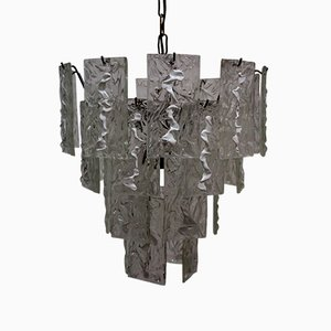 Chandelier in Murano Glass by Carlo Nason for Mazzega, 1960s