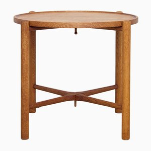 Tavolo pieghevole AT35 di Hans J. Wegner per Andreas Tuck, anni '60