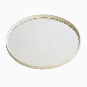Espejo sueco Mid-Century redondo, años 60