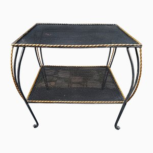 Wrought Iron Side Table, 1950s