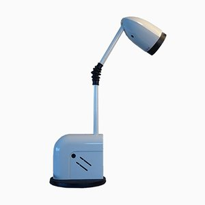 Lampe de Bureau Blanche Modèle Snob par Toshiyuki Kita pour Luci, 1980s