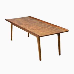 Solid Teak Coffee Table by Aksel Bender Madsen for Bovenkamp, 1960s