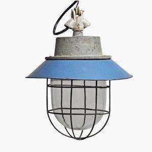 Lampe à Suspension d'Usine Industrielle C-11 , 1960s