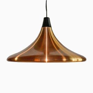 Circular Copper Pendant, 1960s
