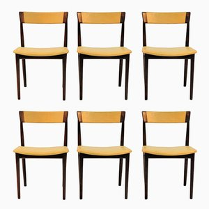 39 Dining Chairs by Henry Rosengren Hansen for Brande Møbelindustri, 1960s, Set of 6
