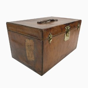 Small Leather Trunk from Louis Vuitton, 1900s