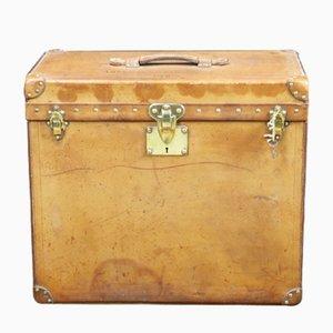 Baúl American Gramophone de cuero de Louis Vuitton, años 10