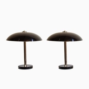 Table Lamps by Christian Dell for Bünte & Remmler, 1930s, Set of 2