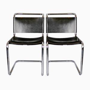 B33 Stühle von Marcel Breuer für Gavina, 1950er, 2er Set