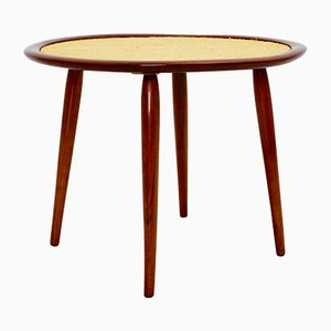 Mid-Century Austrian Cherrywood Coffee Table by Max Kment