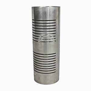 Zylindrische Tischlampe, 1970er