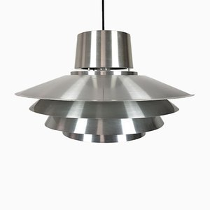 Aluminium Verona Pendant Light by Svend Middelboe for Nordisk Solar, 1970s