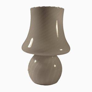 Lampe de Bureau Mushroom en Verre de Murano Décapé, 1960s