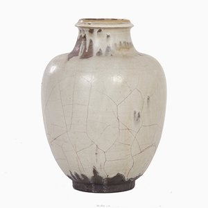 Jarrón Mobach de cerámica hecho a mano de Mobach, años 30