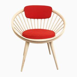 Runder Stuhl von Yngve Ekström für Swedese, 1960er