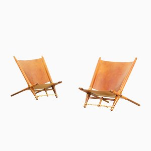 Lounge Chairs by Ole Gjerløv-Knudsen for Cado, 1958, Set of 2