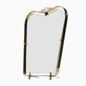 Espejo de mesa Serpentina, años 50