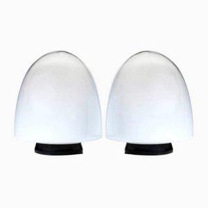 Italienische EBE 34 Murano Glas Tischlampen von Giusto Toso für Leucos, 1970er, 2er Set