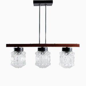 Lámpara colgante de ESC Elektroistala Jilove Decina, años 60