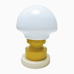 Yellow and White Table Lamp, 1960s