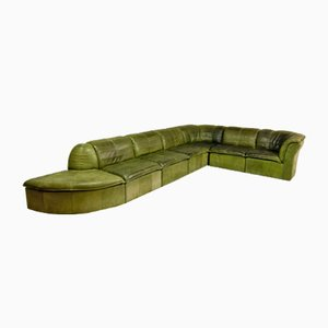 Mid-Century Modular Patchwork Sofa by Laauser, 1970s