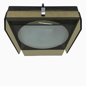 Italian Ceiling Lamp from Veca, 1970s