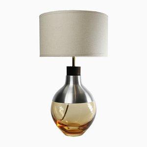 M2 Peach Museum Lamp in Aluminum by Utopia & Utility