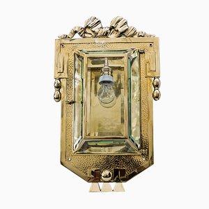 Applique Art Nouveau grande, anni '10