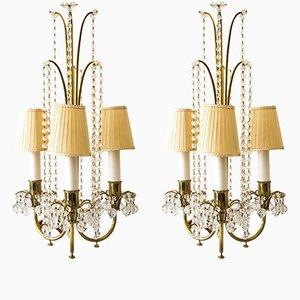 Lampes de Bureau par J. & L. Lobmeyr, 1950s, Set de 2