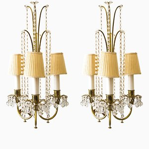 Table Lamps by J. & L. Lobmeyr, 1950s, Set of 2