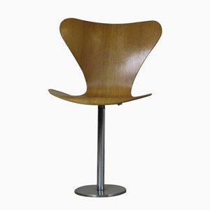 Silla 7-Series de Arne Jacobsen para Fritz Hansen, 1974