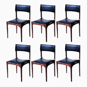 Chairs by Giuseppe Gibelli, 1960s, Set of 6
